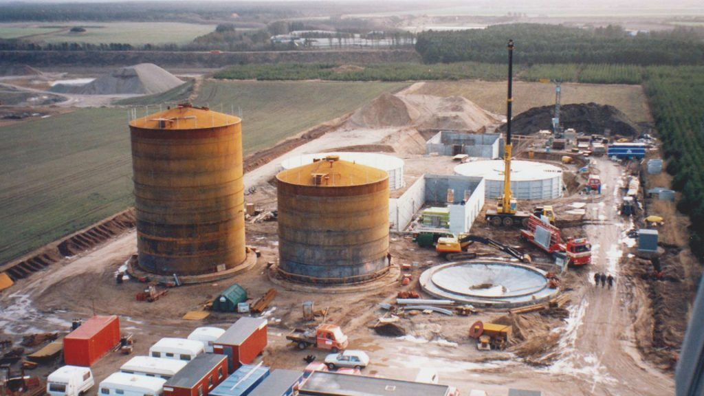 1991: Lemvig Biogas bygges