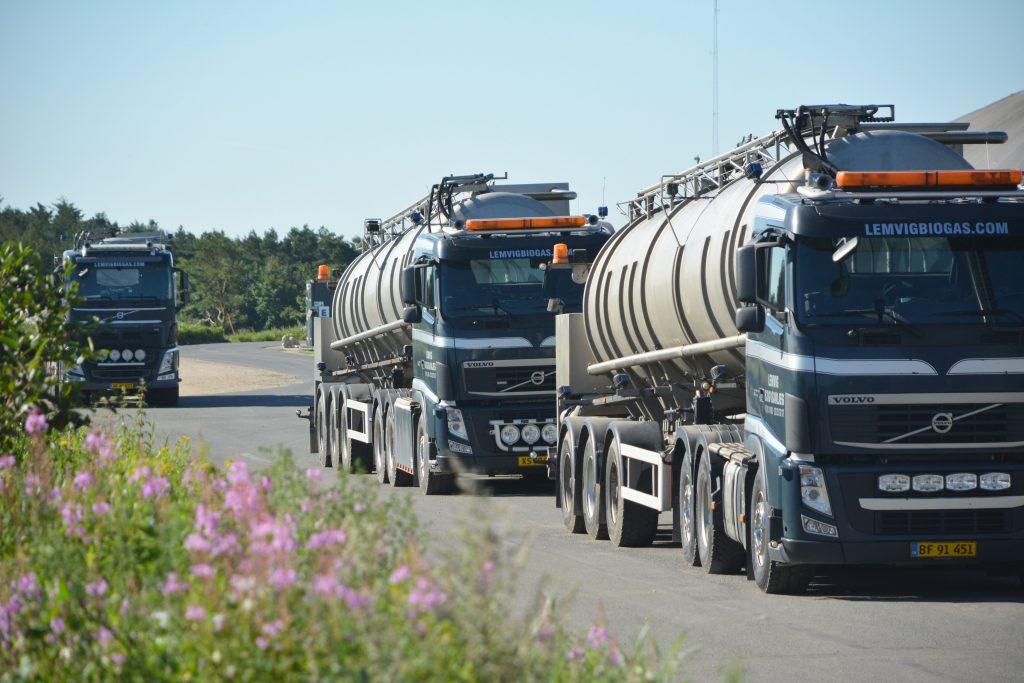 Lemvig Biogas tankvogne ved anlægget (6000x4000)