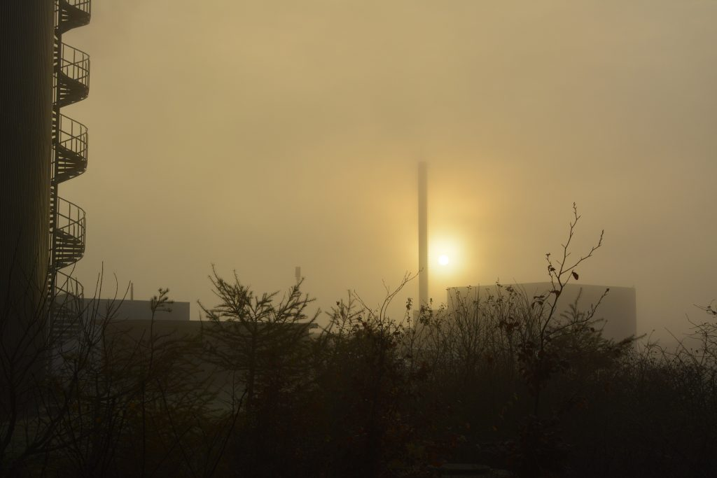 Lemvig Biogas, solopgang/morgendis  (6000x4000)