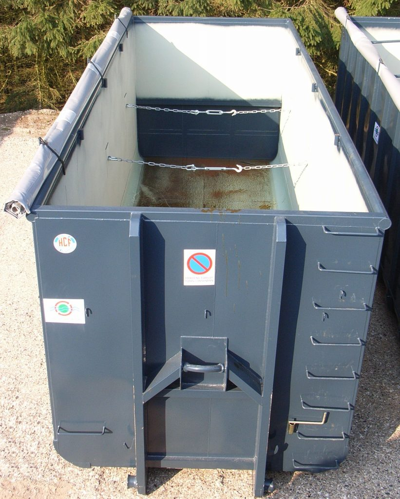 37 m3 container set fra oven