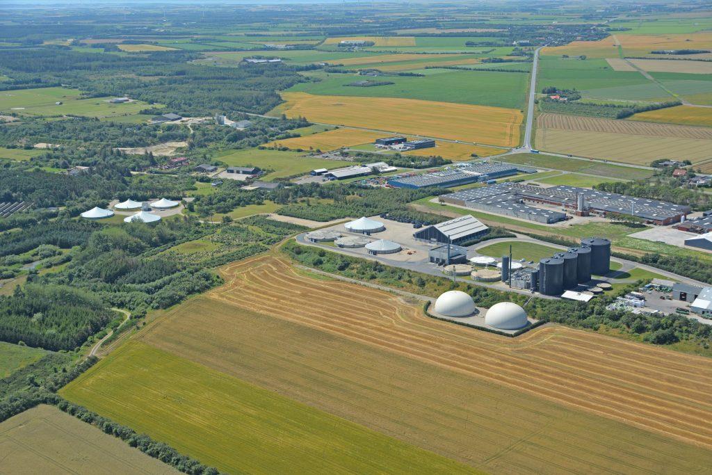 Luftfoto Lemvig Biogas 17.07.2019