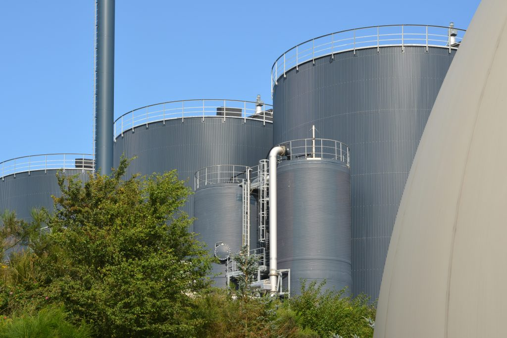Biogasanlæg august 2019