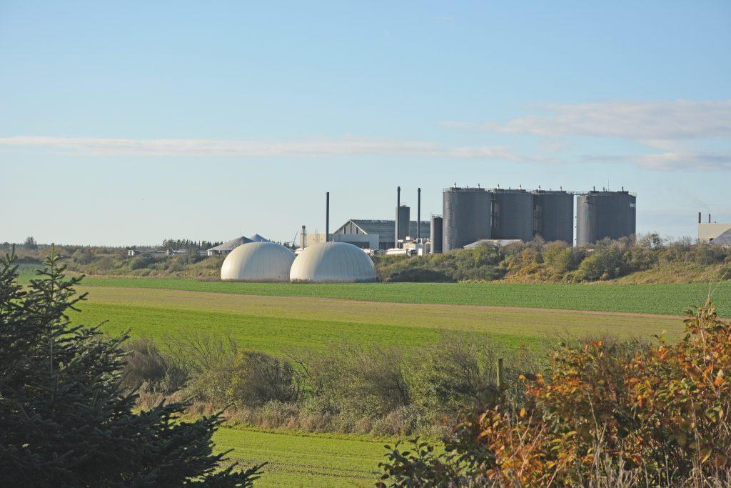 Lemvig biogas set fra nordøst, nov. 2019