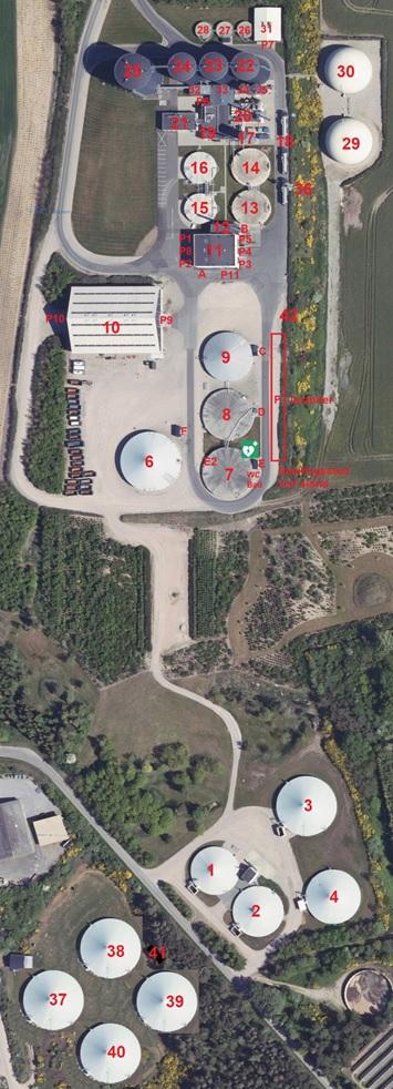 Lemvig Biogas situationsplan 2020