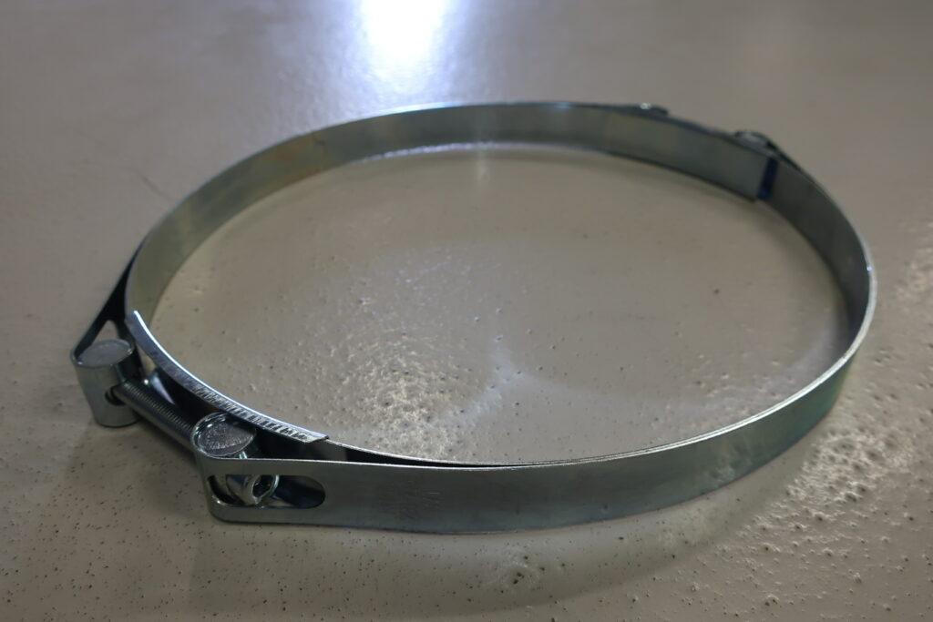 Spændebånd for elastisk sugetragt ø275-325